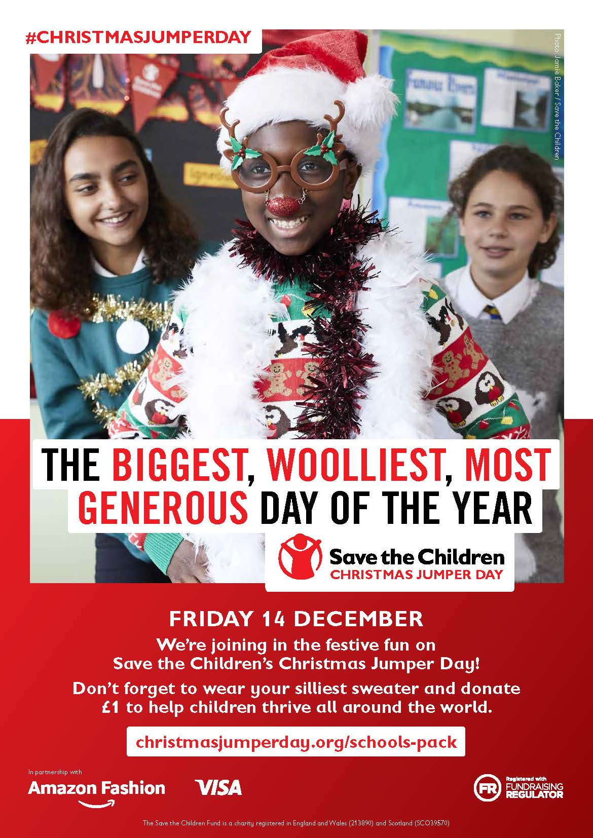 827c8052a94 Christmas Jumper Day - Friday 14th December - Magnus C of E Academy
